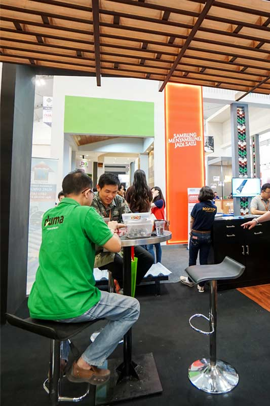 INDO BUILD TECH JAKARTA EXHIBITION 2017