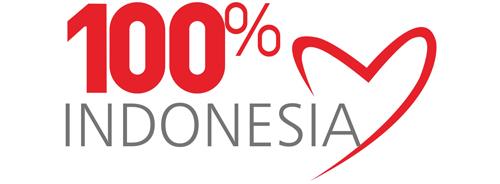 100 persen Indonesia
