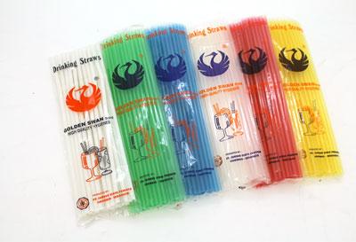 godlen swan straw 1